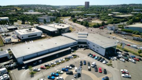 Stratstone BMW Dealership Aerial