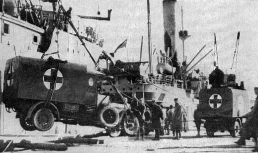 Stratstone vehicles during World War II.