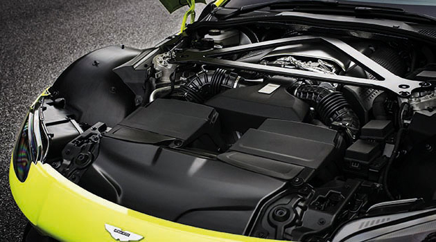 Under the bonnet of the Aston Martin Rapide E