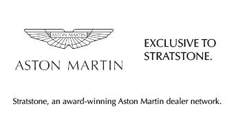 Aston Martin Stratstone logo.