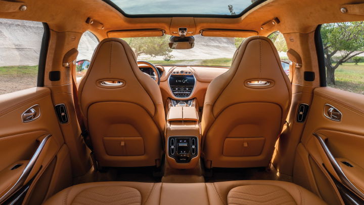 Aston Martin DBX SUV Interior