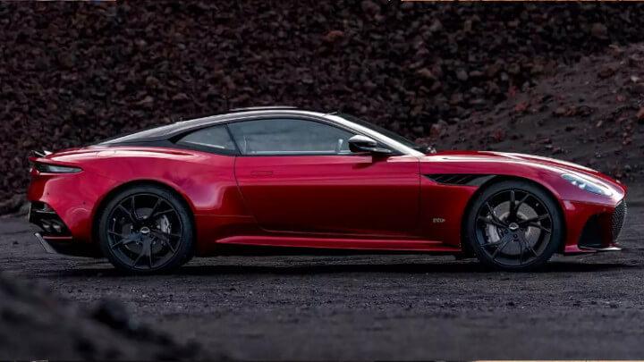 Aston Martin DBS Superleggera Side Profile
