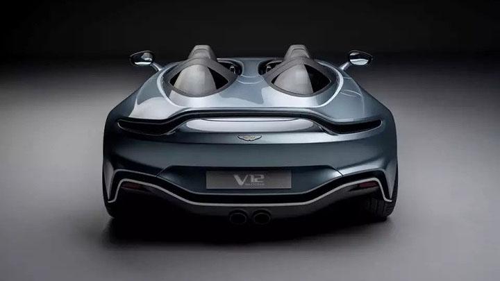 aston martin v12 speedster rear