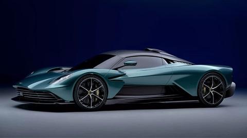 Aston Martin Valhalla, front left