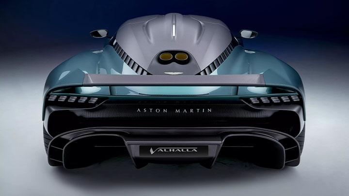 Aston Martin Valhalla, rear