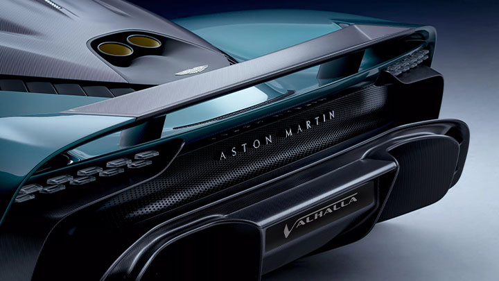 Aston Martin Valhalla, rear spoiler