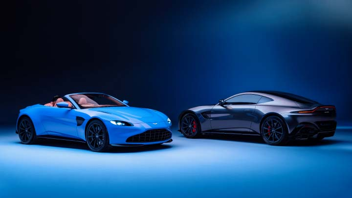 Aston Martin Vantage: Coupe and Roadster