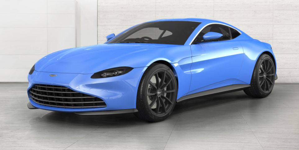 Aston Martin Vantage Coupe Spec