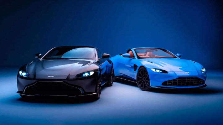 Aston Martin Vantage, Coupe and Convertible