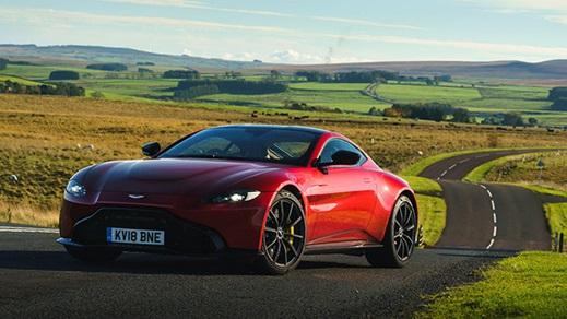Aston Martin Vantage Exterior, Front