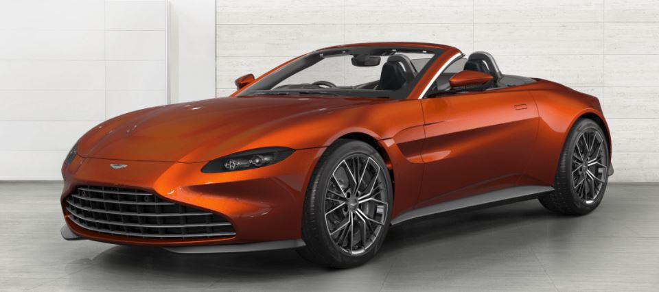 Aston Martin Vantage Roadster Spec