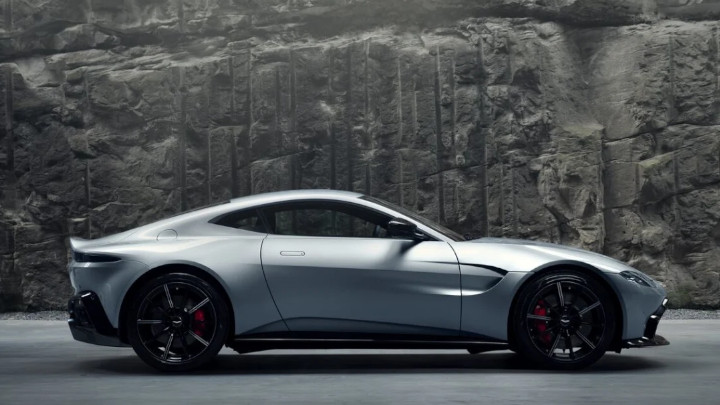 Aston Martin Vantage Side Profile