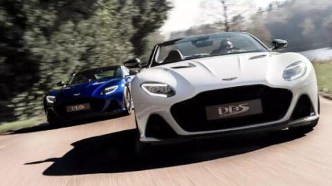 Aston Martin DBS Superleggera Coupe and Convertible