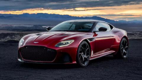 Aston Martin DBS Superleggera Exterior, Front