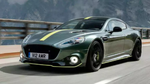 Aston Martin Rapide AMR, Driving