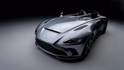aston martin v12 speedster front