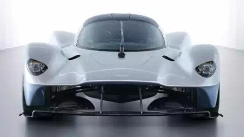 Aston Martin Valkyrie Exterior, Front