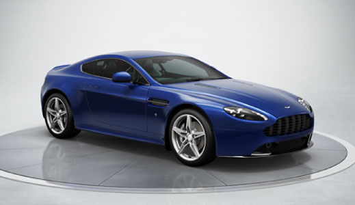 Creating your own Aston Martin with the online configurator.