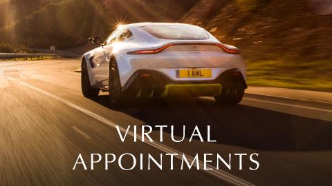 Aston Martin Virtual Appointment