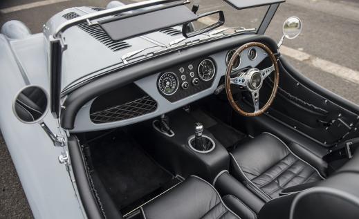 Morgan Plus 4 interiors.