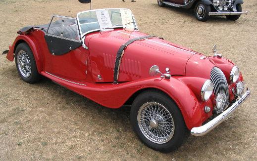 Red Morgan Plus 4.