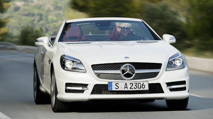 Mercedes-Benz SLK Front