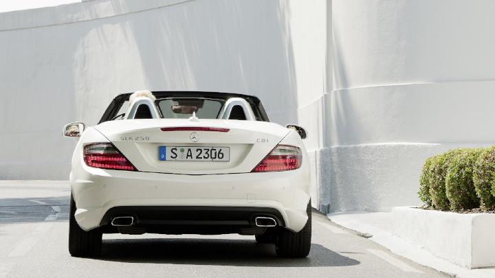 Mercedes-Benz SLK Rear