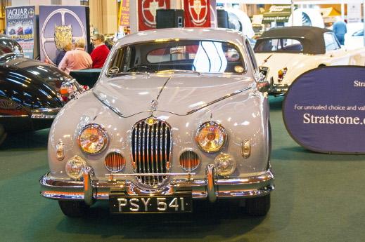1957 Jaguar Mk1 at the 2015 NEC Classic Motorshow.