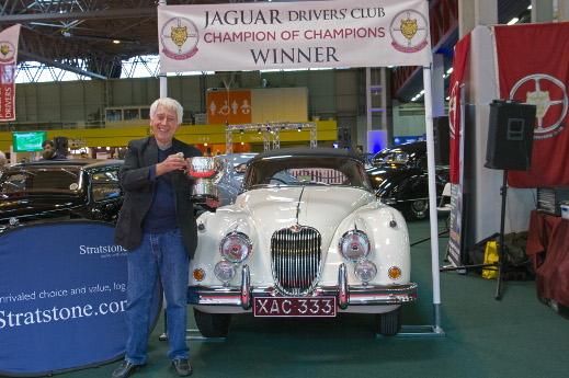 1960 Jaguar XK150 S at the 2015 NEC Classic Motor Show.
