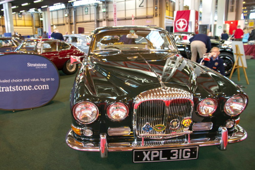 1969 Daimler Soverign 420 at the 2015 NEC Classic Motor Show.