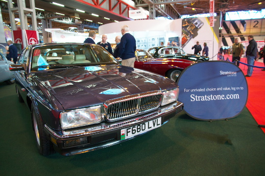 1988 Dailmer XJ40 at the 2015 NEC Classic Motor Show.