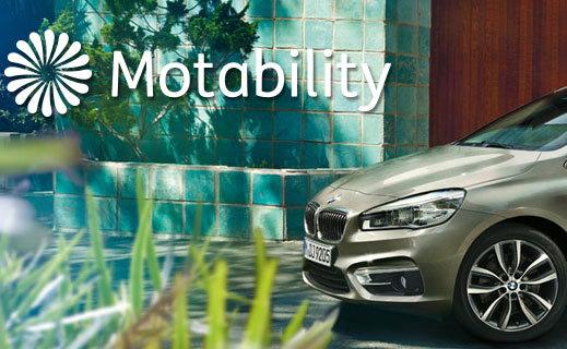 BMW Motability.