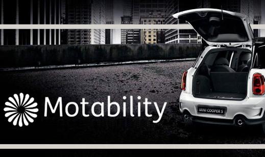 White Mini Cooper S Motability.
