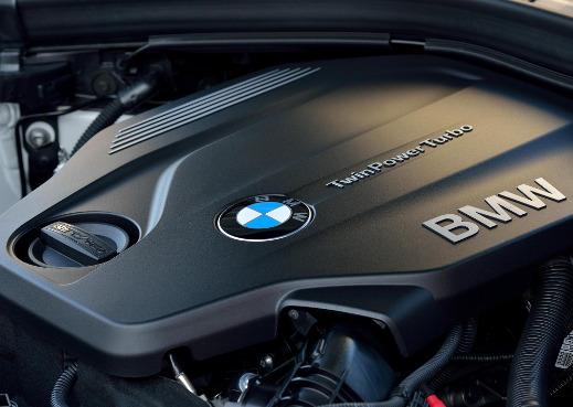 BMW 3 Series engine.