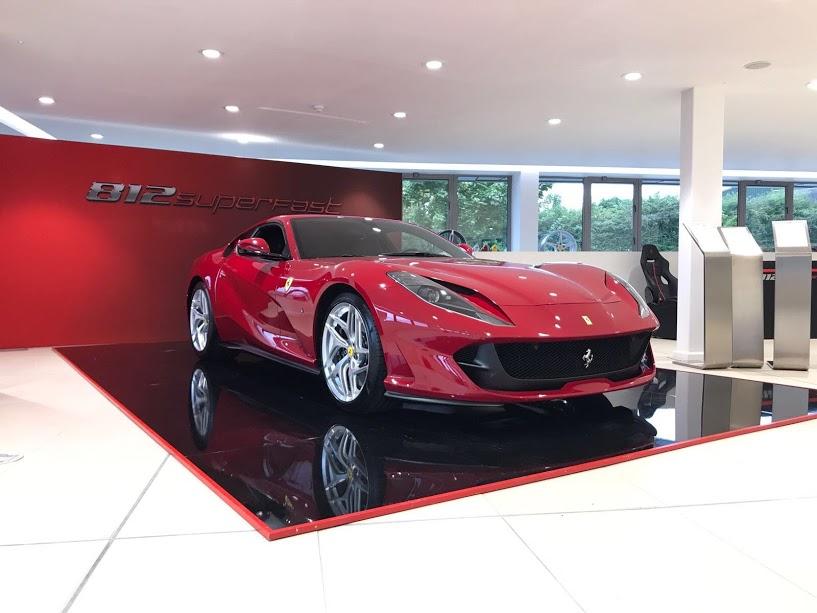 Red Ferrari 812 SuperFast