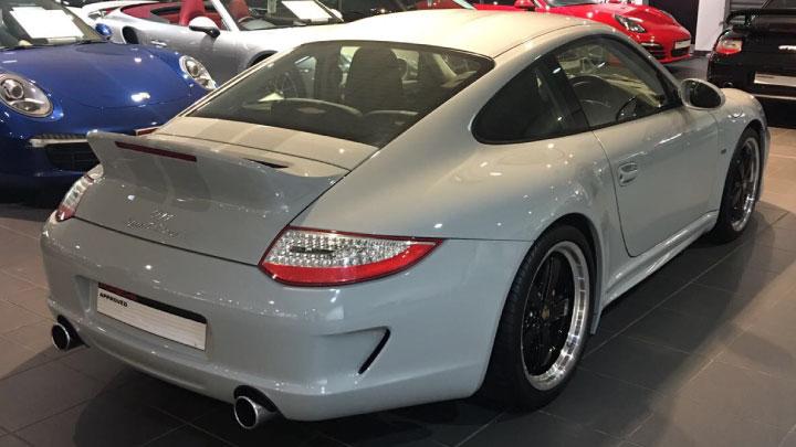 Porsche 911 Sport Classic Rear