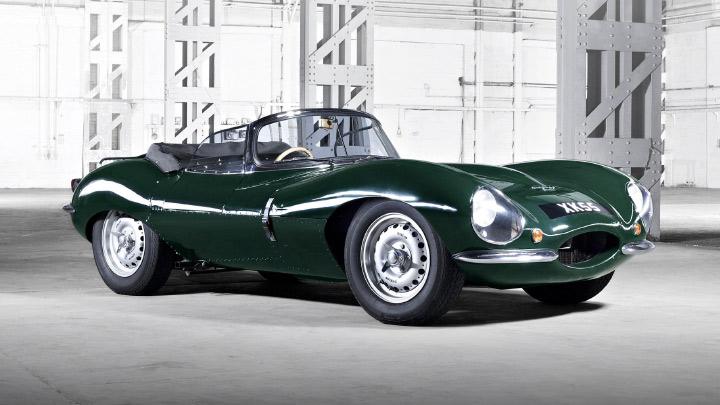 Jaguar XKSS Front