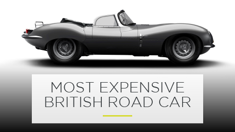 Most Expensive British Road Car: Jaguar XKSS