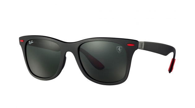 Ray-Ban for Scuderia Ferrari Wayfarer Lite Force matt black.