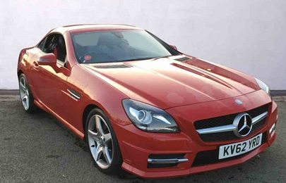 Mercedes-Benz SLK Roadster.