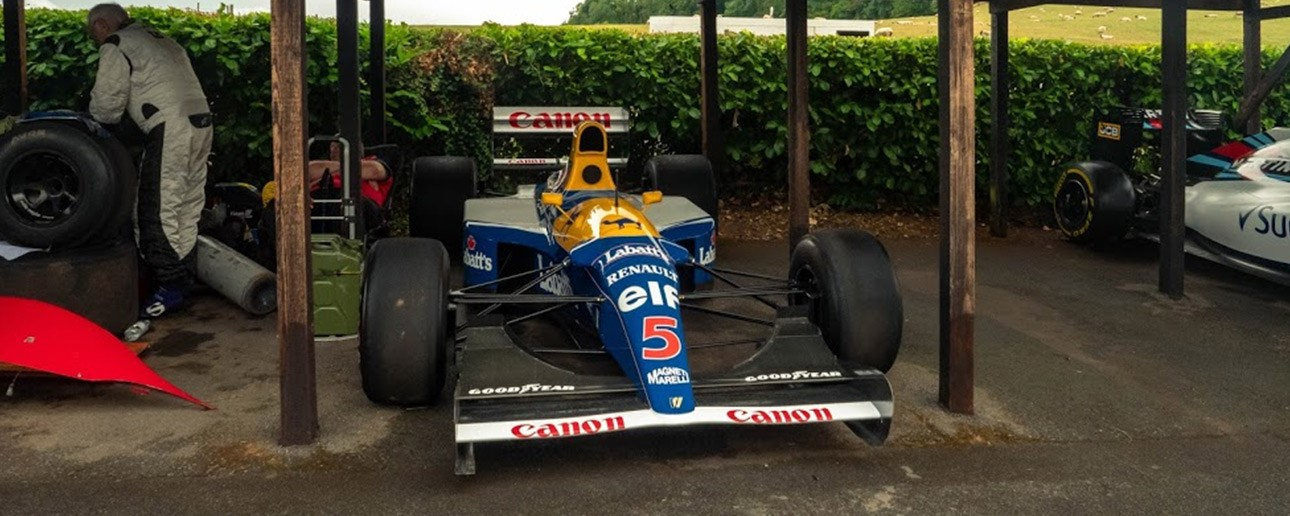 Formula 1 Car at Shelsley Walsh.