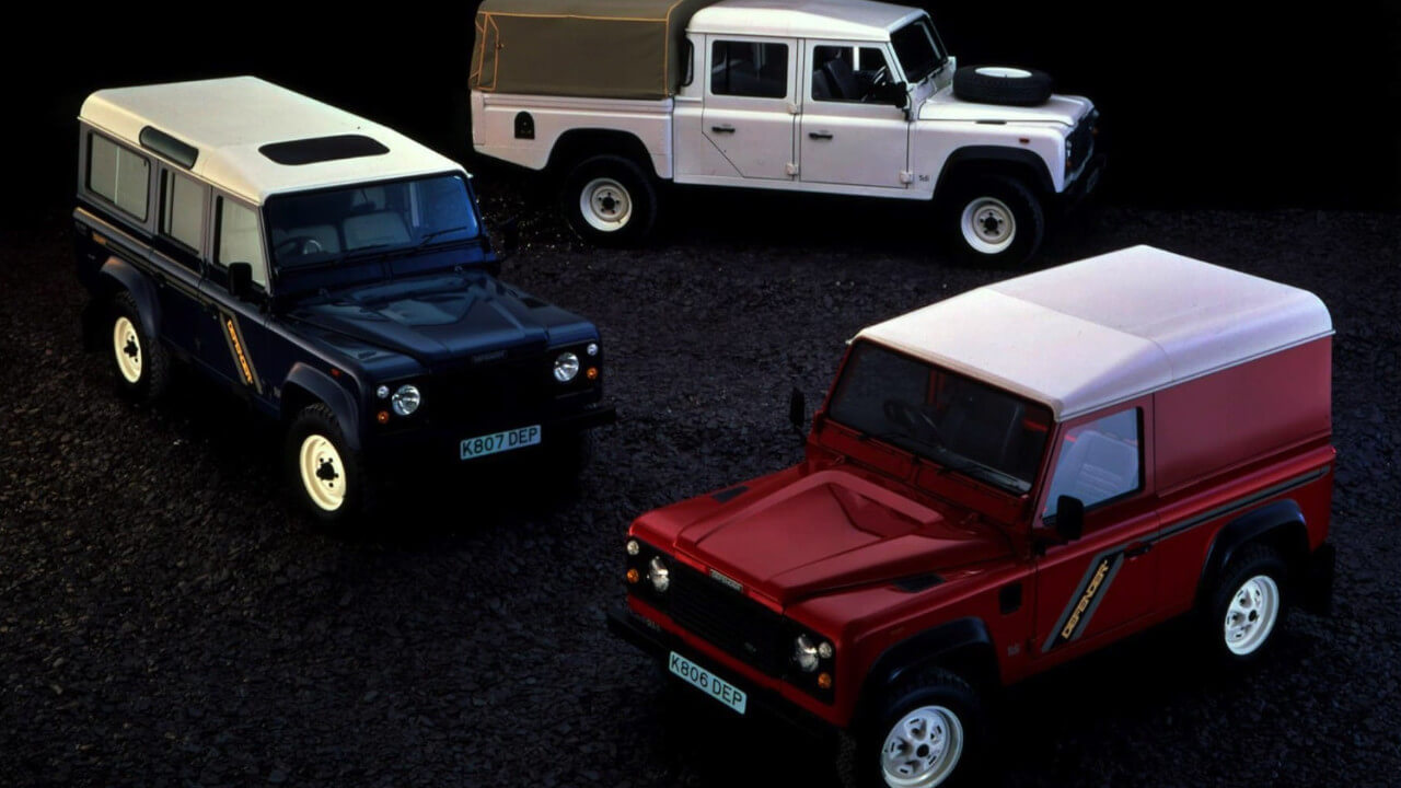 Land Rover Defender Range