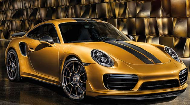 Gold GT2 RS.