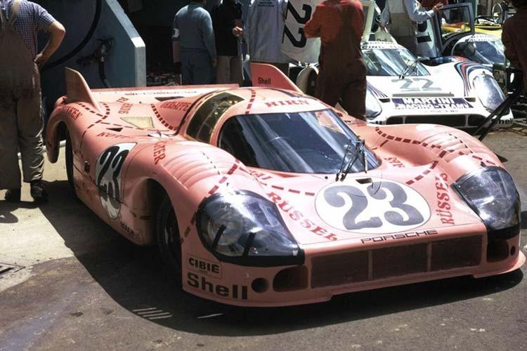 Porsche 917/20 'Pink Pig'.