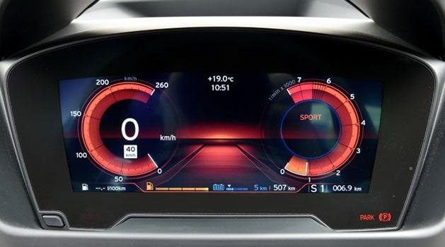BMW i8 dashboard.