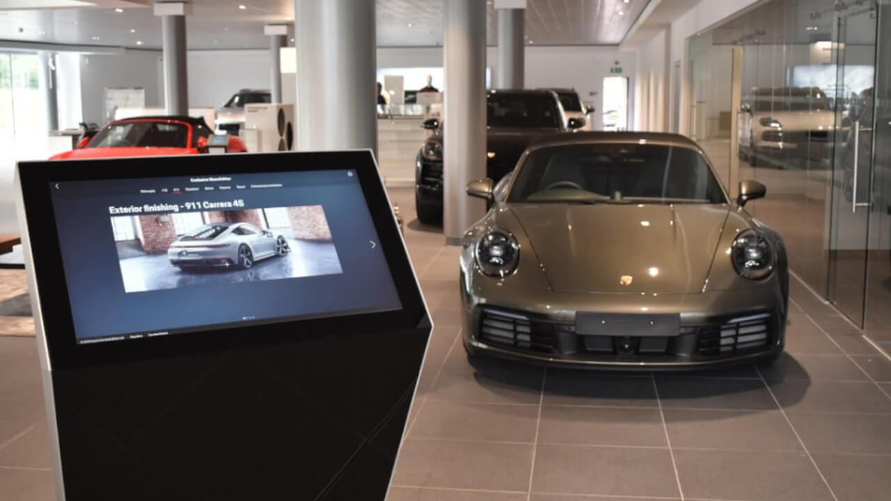 Porsche Centre Stockport Configurator