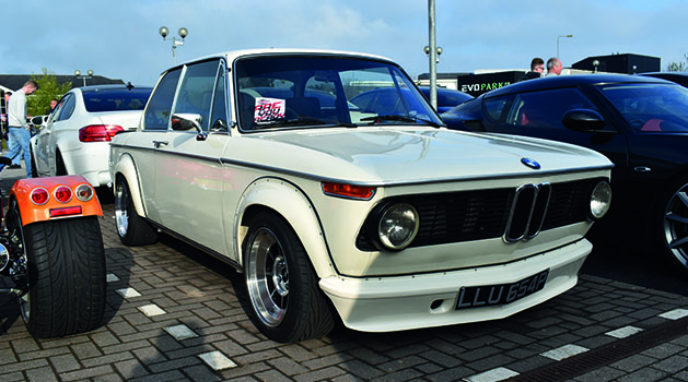 BMW 2002 Turbo at Car Cafe, Pendragon PLC, Nottinghamshire.