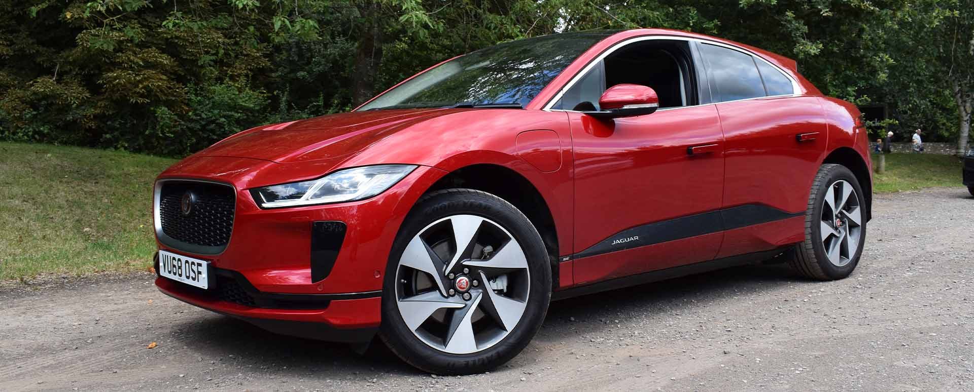 Jaguar I-PACE Front Quarter