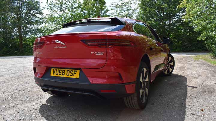 Jaguar I-PACE Parked