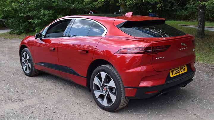 Jaguar I-PACE Rear Quarter
